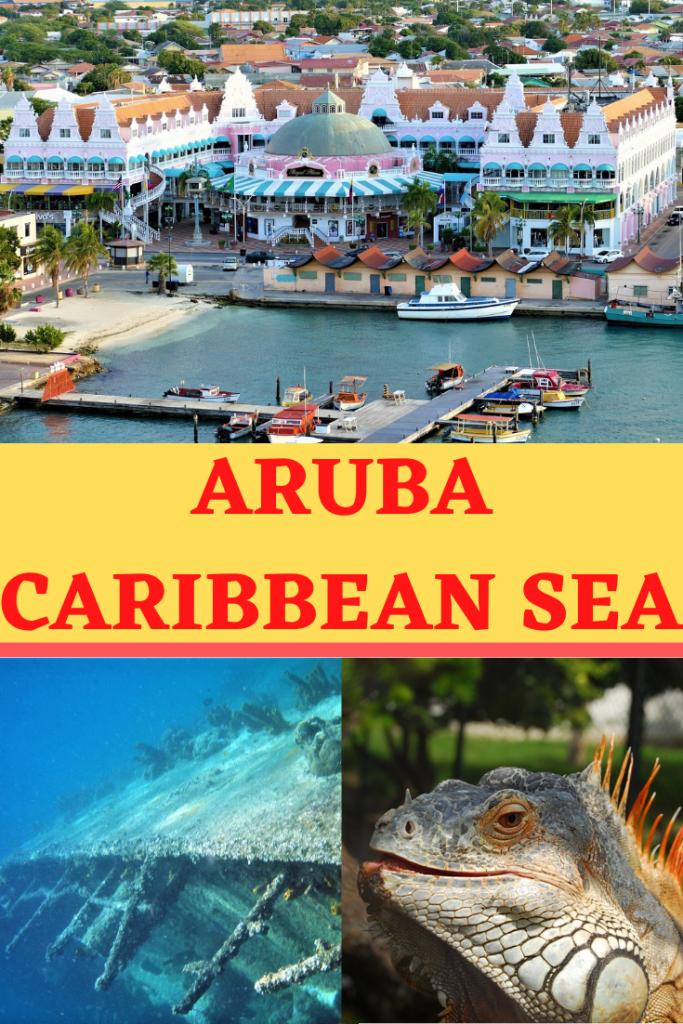 Aruba pin