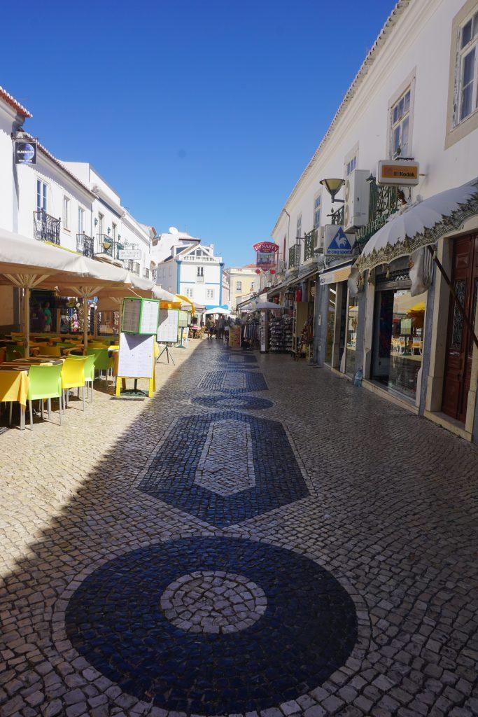 DNA pattern Lagos street, Portugal