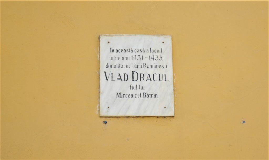 Sighisoara Transylvania Romania Vlad Dracula