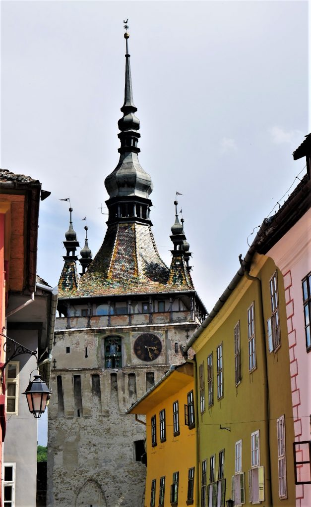 Clock Tower in Sighisoara Romania