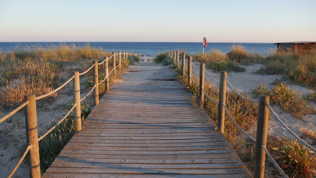 Algarve Portugal Alvor Cinco Quinas Beach