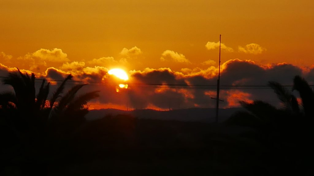 Algarve beach sunset