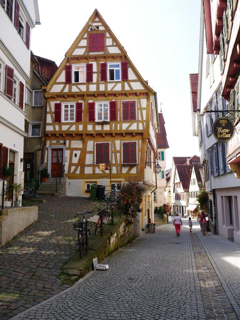 Tubingen Germany Street Walk
