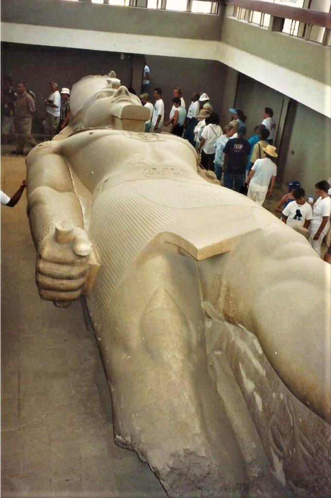 Cairo Egypt Pyramids  Ramses the second Memphis