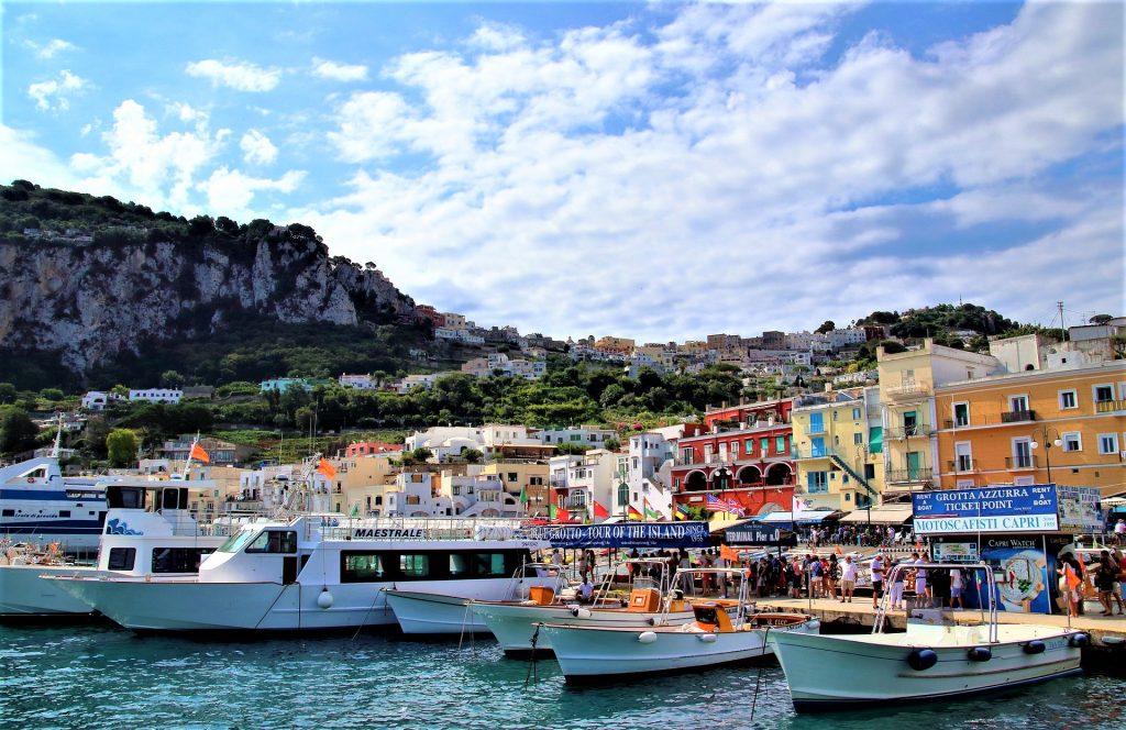 Marina Grande, Capri Port Italy