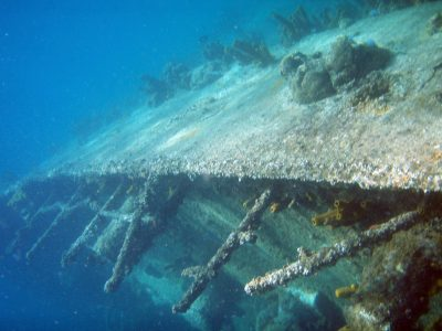 Aruba shipwreck
