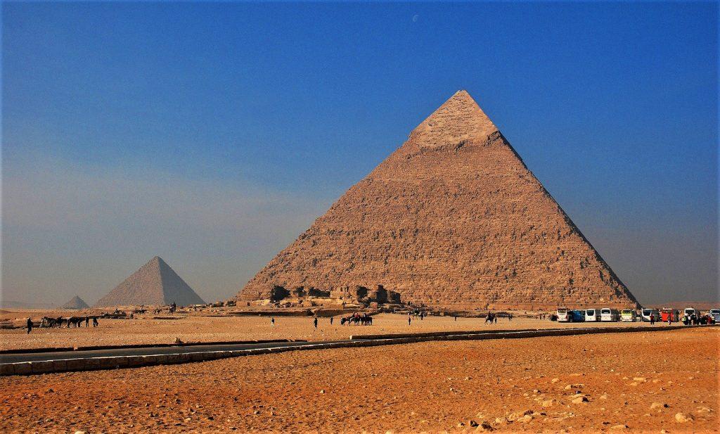 Cairo Egypt Pyramids Africa
