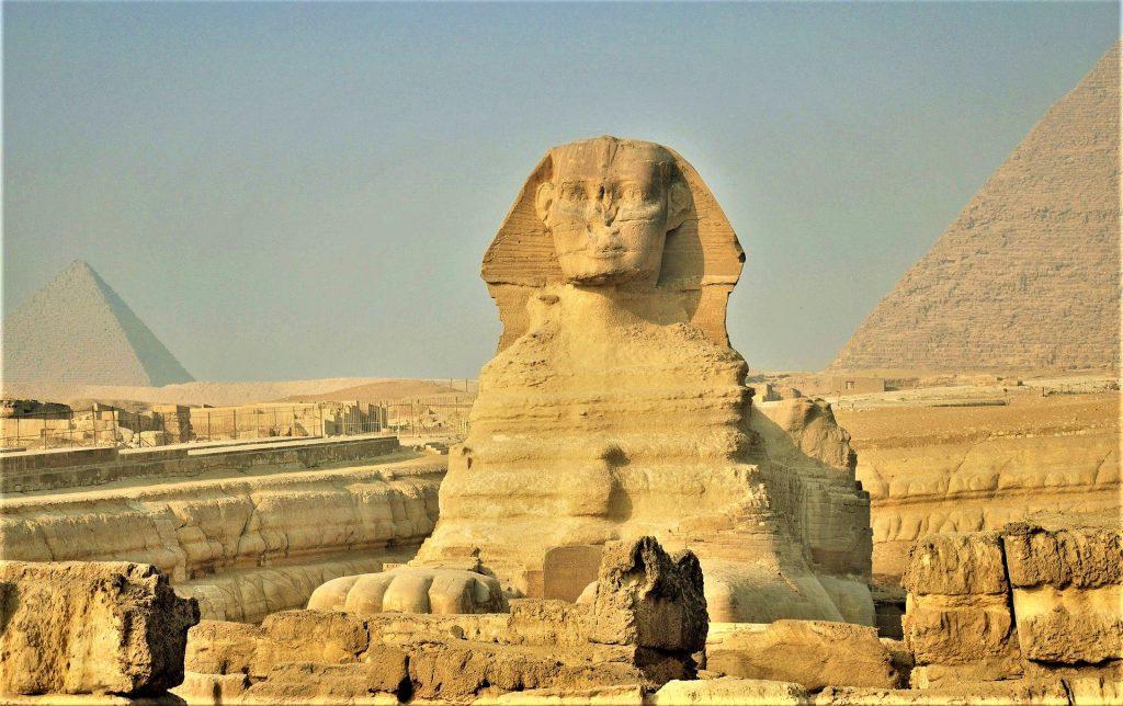 Cairo Egypt Pyramids Africa Sphinx