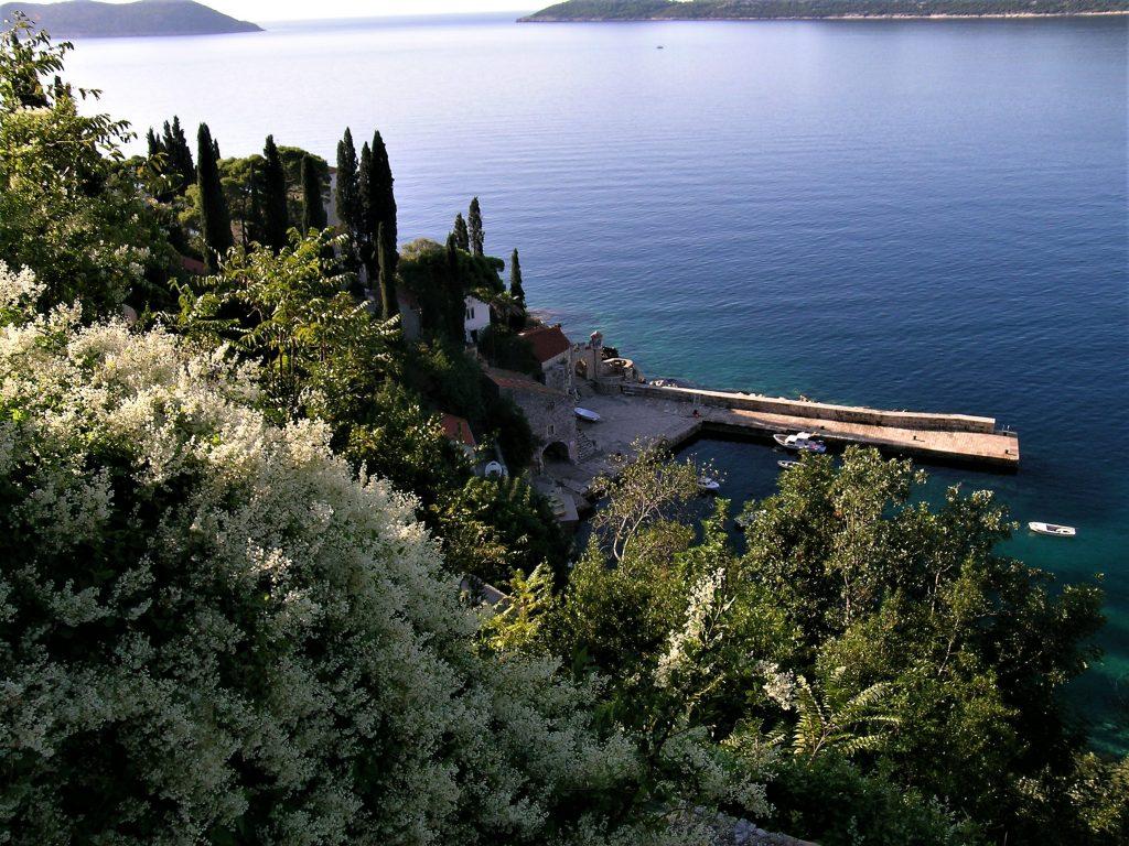 Trsterno Arboretum Croatia Adriatic Sea