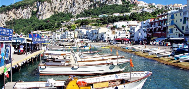 Marina Grande Capri Italy Tyrrhenian Sea