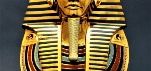Tut's mortuary mask