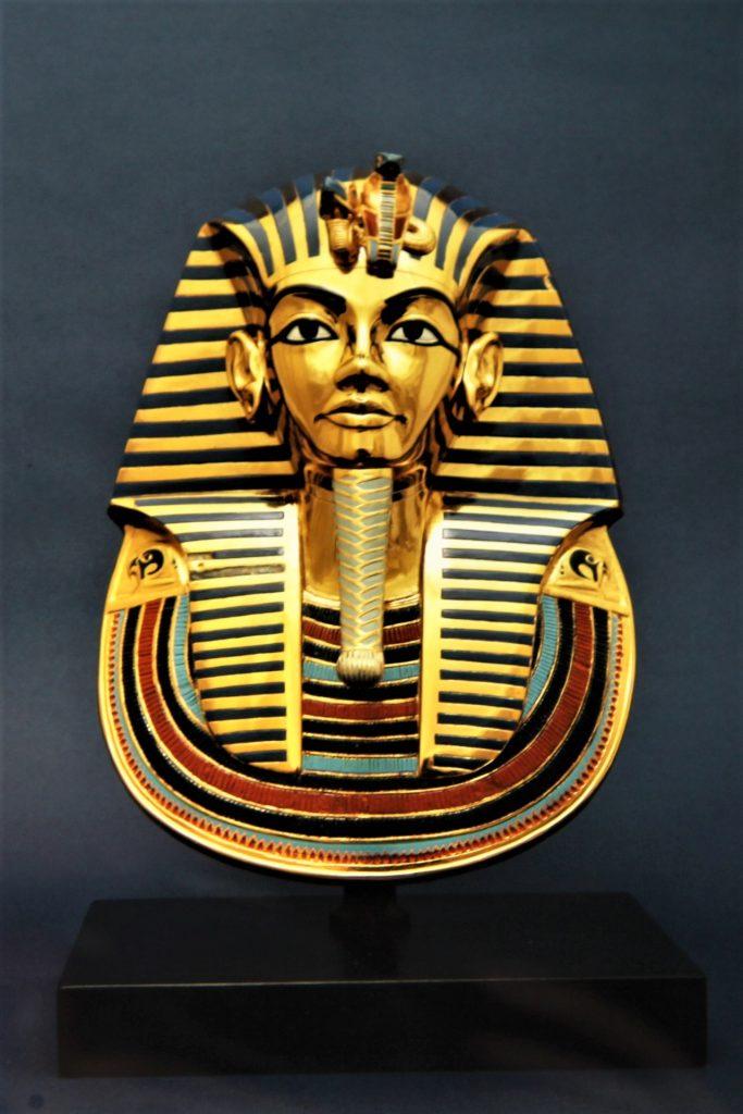 Cairo Egypt Pyramids Tutankhamen mortuary mask