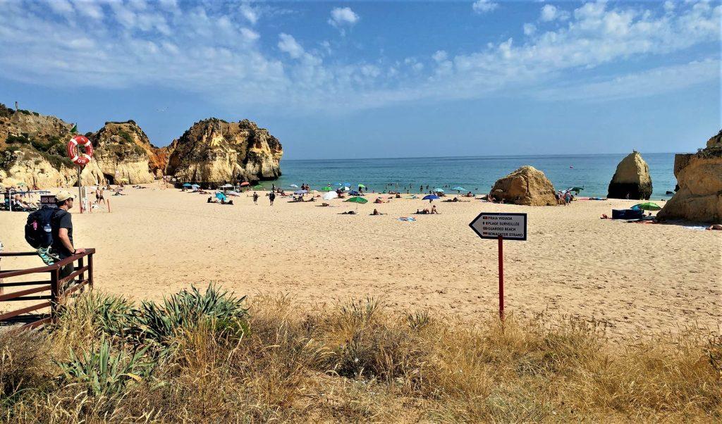 algarve portugal beach holiday