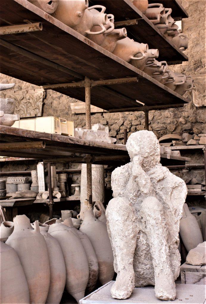 Pompeii, Vesuvius eruption, Human Shapes