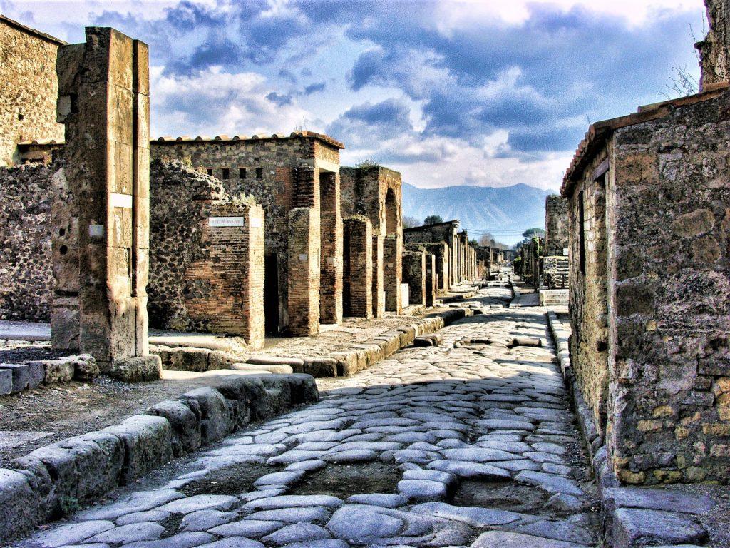 Pompeii Paved Road