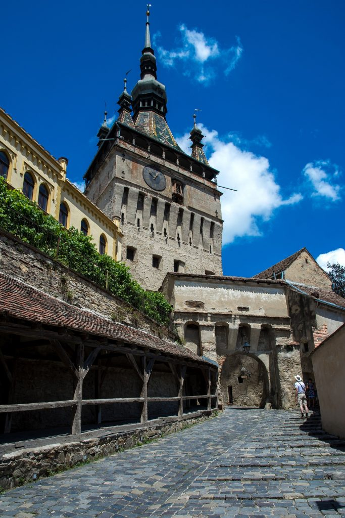 Clock tower Sighisoara Transylvania