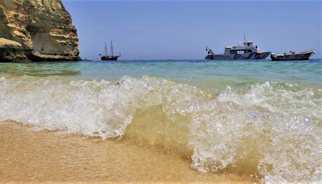 algarve coast boat tour portugal