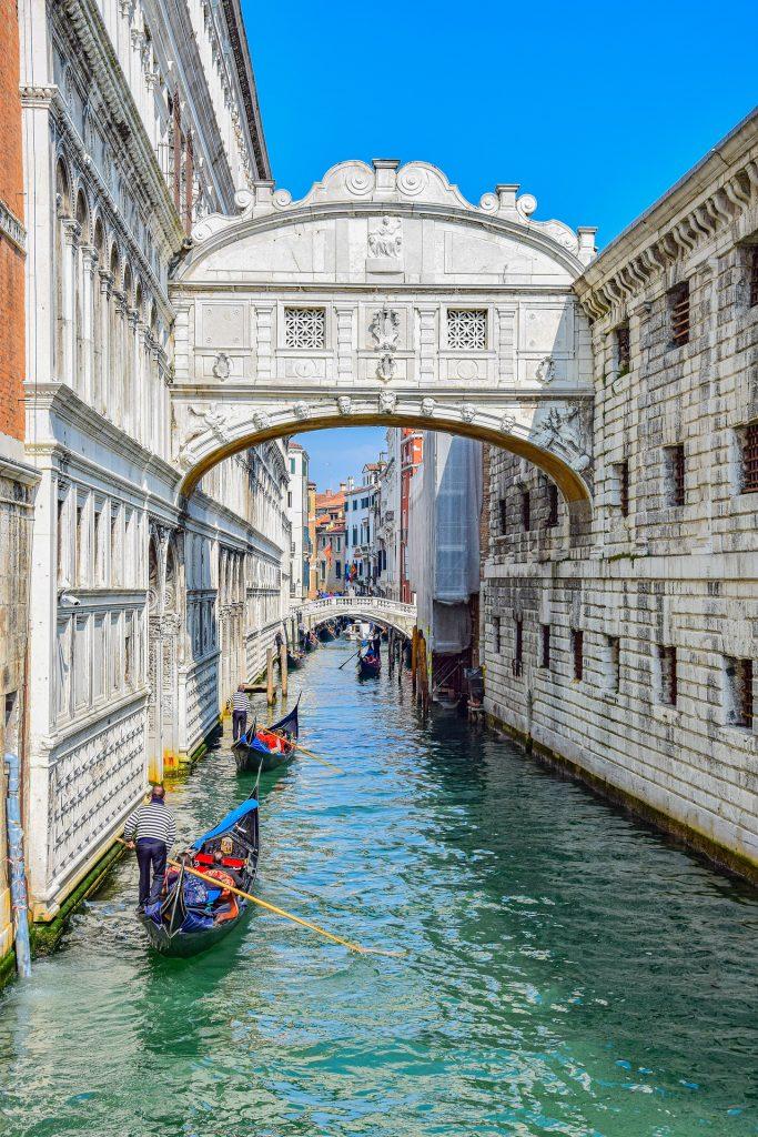 Venice Italy Canals Bridges
