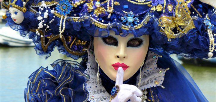 Venice Italy Carnival Mask