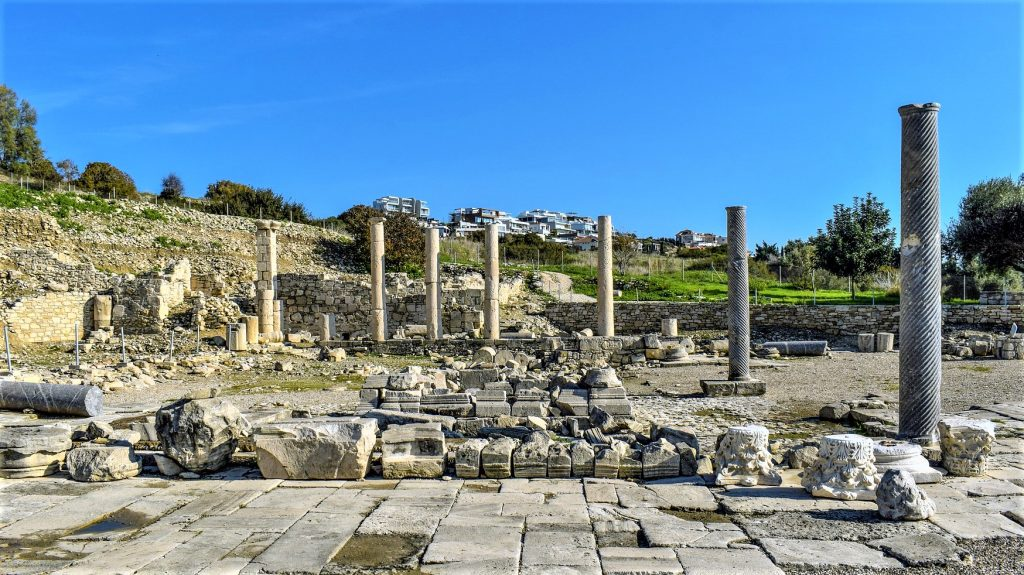 Limassol Cyprus Ruins