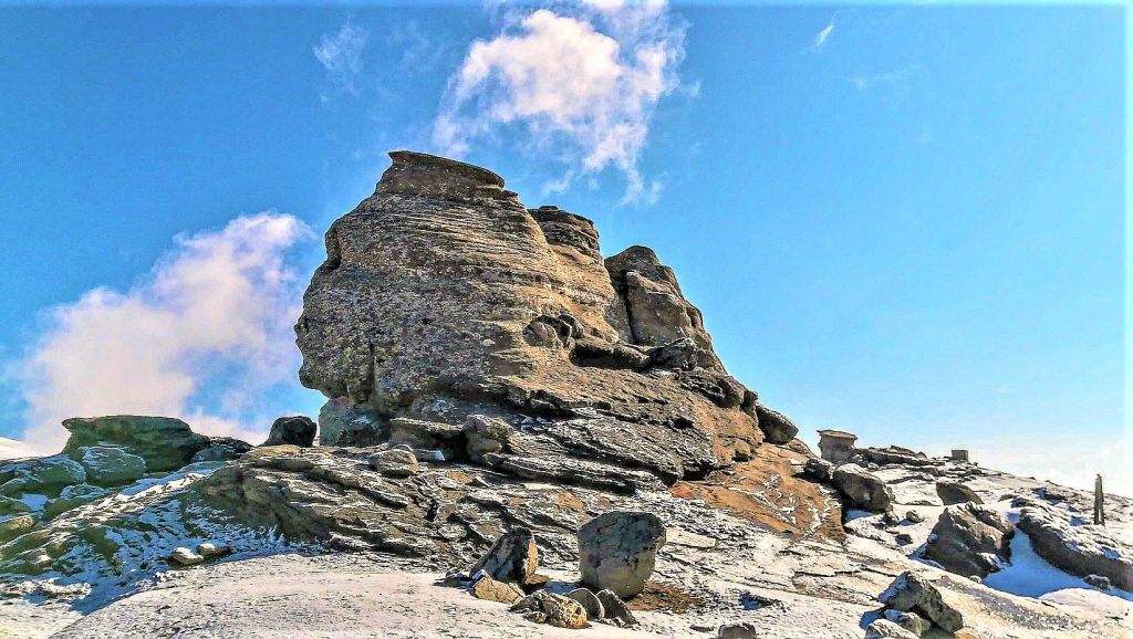 The Sphinx, Bucegi Mountains of the Carpathian Range, Romania