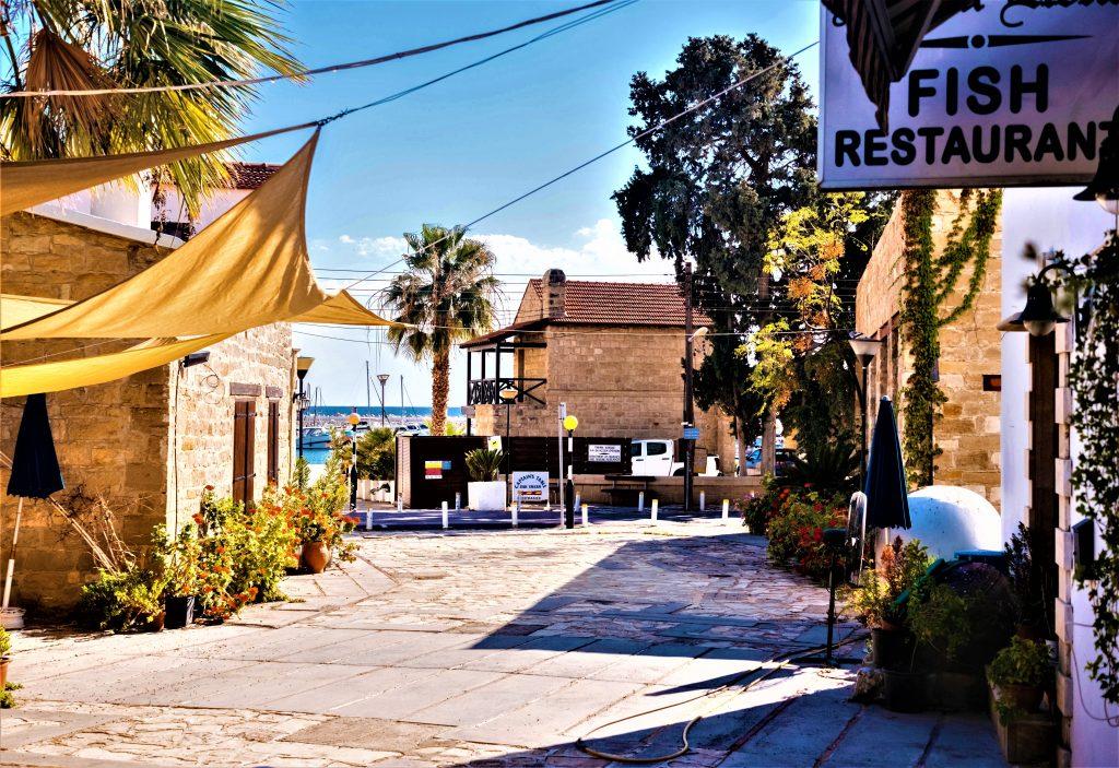 Tavern Limassol Cyprus Mediterranean