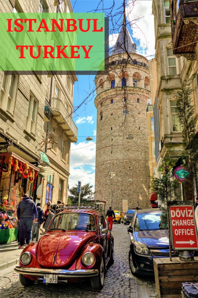 Galata Tower Minaret Istanbul Turkey