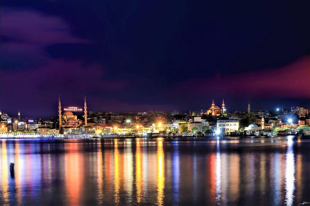 Bosporus Golden Horn Istanbul
