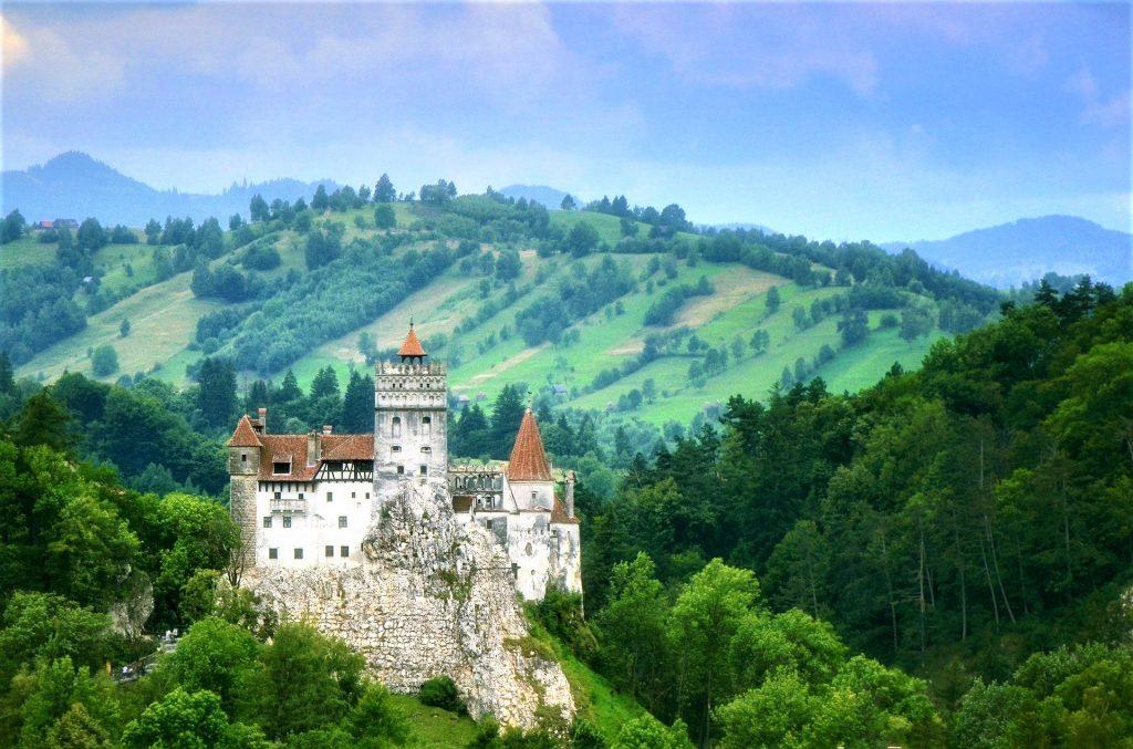 Bran Castle near Brasov, Transylvania. Not Dracula's Castle