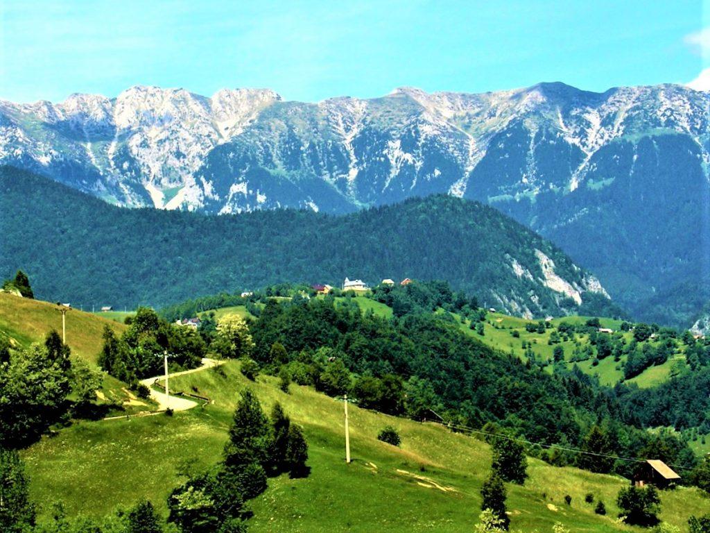 The King's Rock Mountain in the Carpathian Range, Transylvania