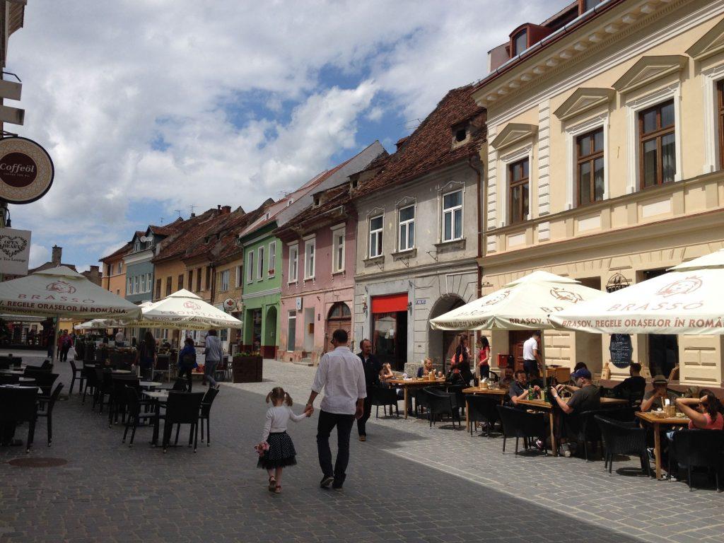Brasov City Centre High Street