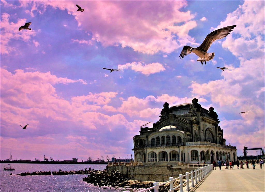 Constanta City, The Black Sea, Romania