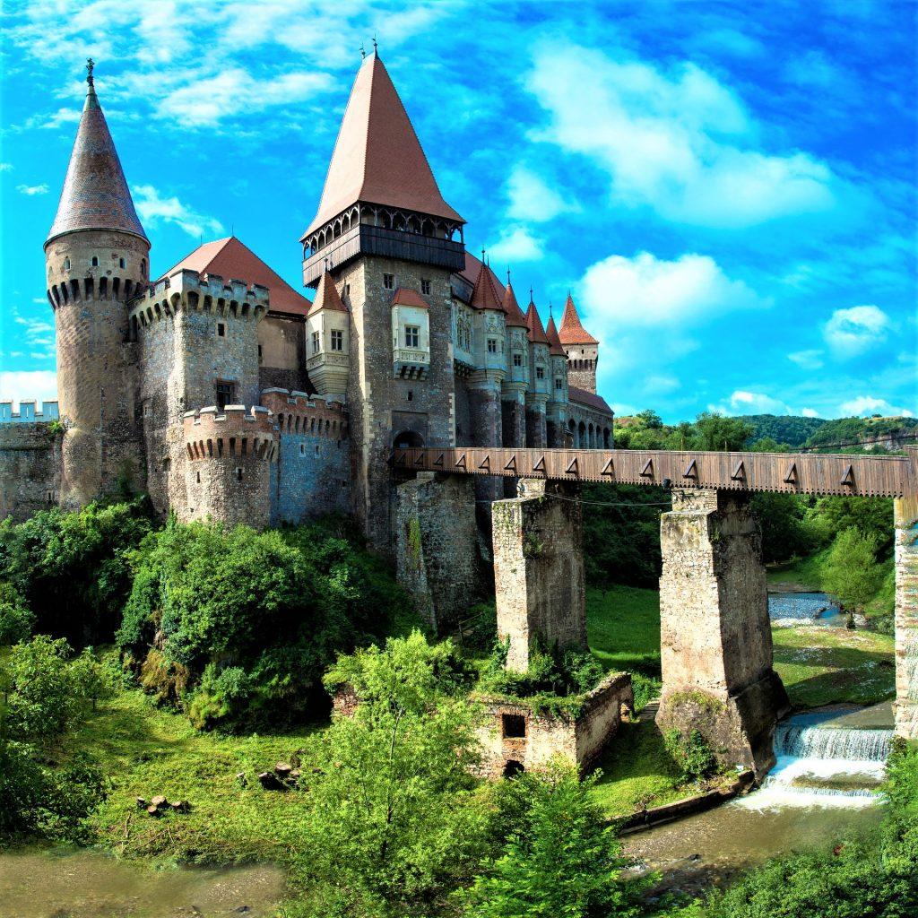 The Huniade Castle, Romania