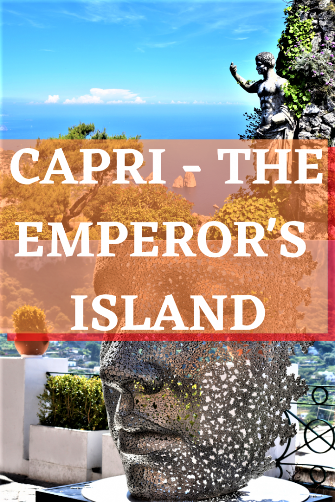 Capri- The Emperor's Island Pin