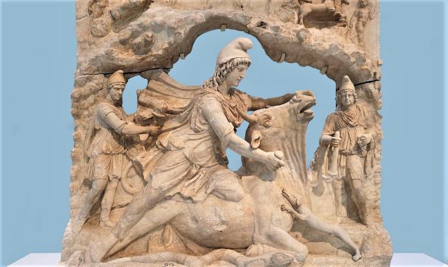 Mithras killing the bull, history, religion