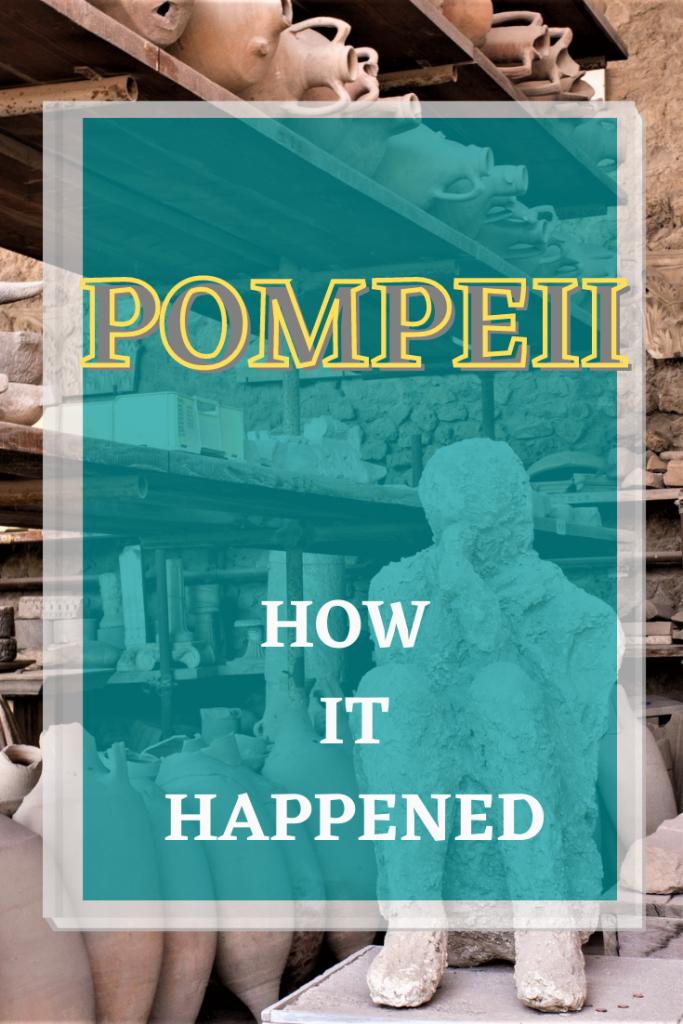 Human shapes Pompeii pin