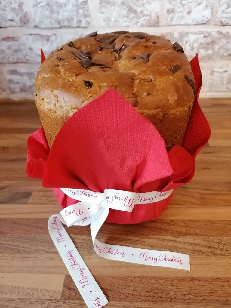 Wrapped Panettone