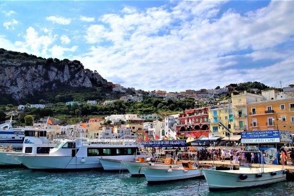 Capri's marina