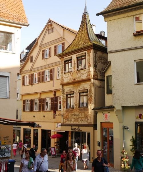Tubingen Germany Medieval Architecture