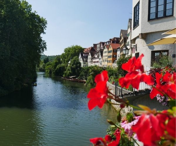 Tubingen Germany Neckar River