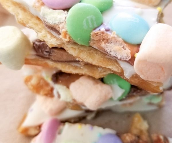 Easter Crack Toffee Candy