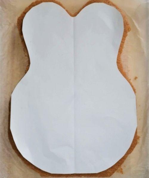 bunny paper shape