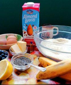 almond flour muffins ingredients