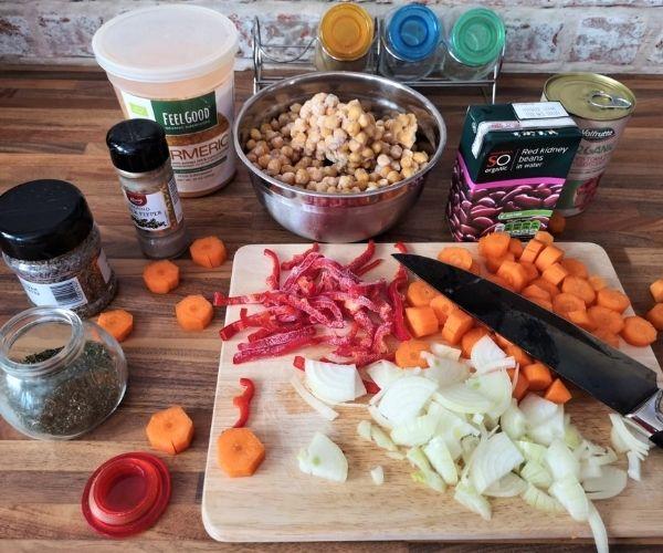 chilli sin carne ingredients
