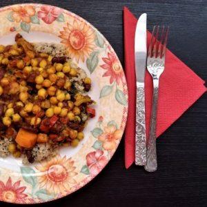 vegan gluten-free chilli sin carne