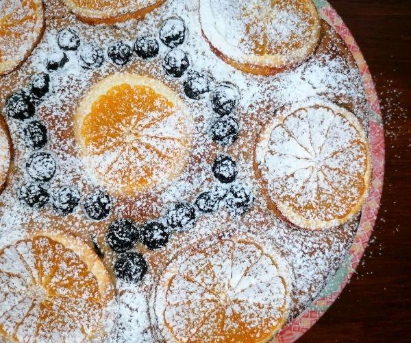 orange and ricotta cake