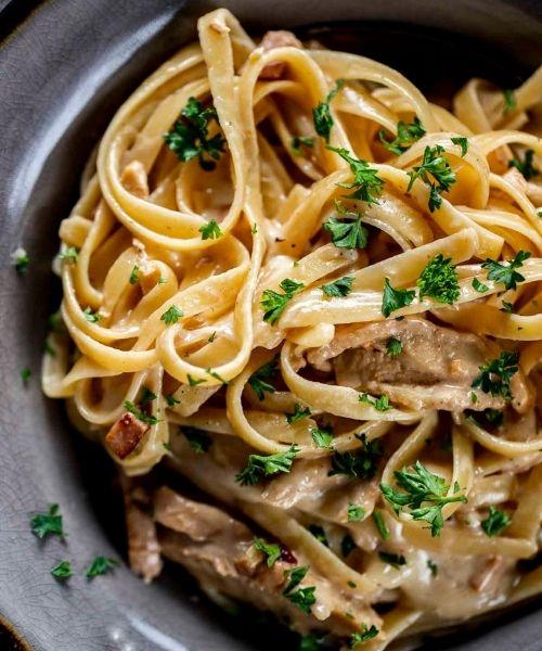 chicken cordonbleu pasta
