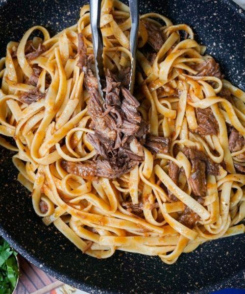 short rib perfect ragu pasta