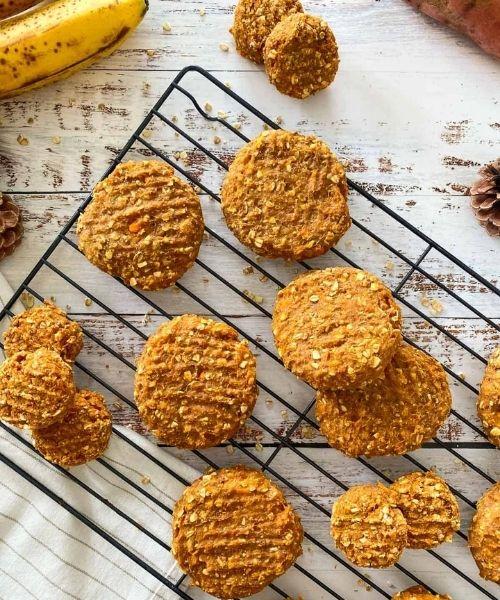 sweet potato healthy cookies