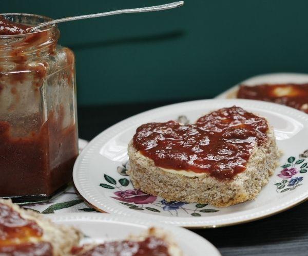 spicy strawberry jam